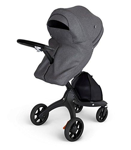 - Stokke Stroller Storm Cover, Black Melange