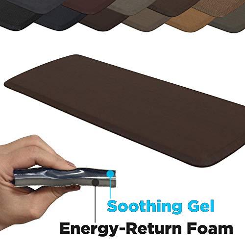 GelPro Elite Premier Anti-Fatigue Kitchen Comfort Floor Mat, 20x48