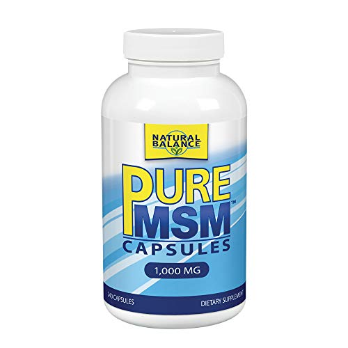 Natural Balance Pure MSM Capsules 240 Count