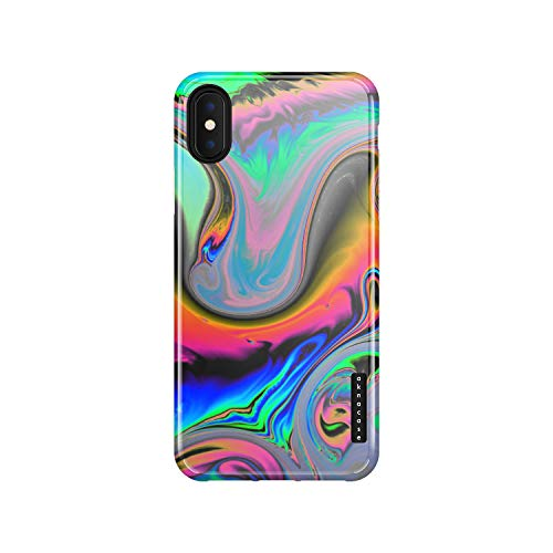 iPhone X & iPhone Xs Case Watercolor, Akna Sili-Tastic Series High Impact Silicon Cover with Full HD+ Graphics for iPhone X & iPhone Xs (Graphic 101993-U.S)