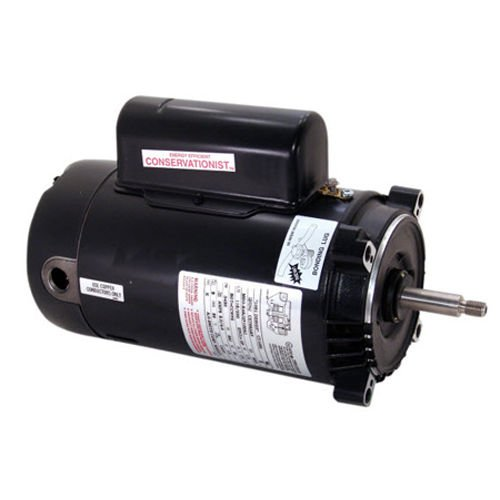 A.O. Smith UCT1102 1HP 115/230V C-Face Energy Efficient Round Flange Motor by A. O. Smith