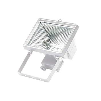 Proyector halógeno 500W IP44 blanco: Amazon.es: Bricolaje y ...