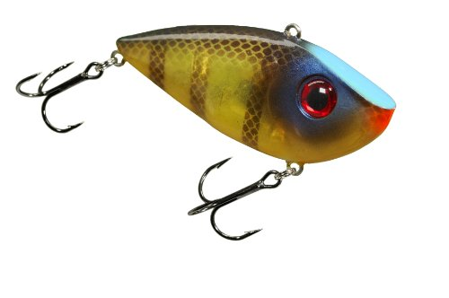 Strike King Red Eye Shad Bait (Bluegill, 0.5-Ounce), Outdoor Stuffs