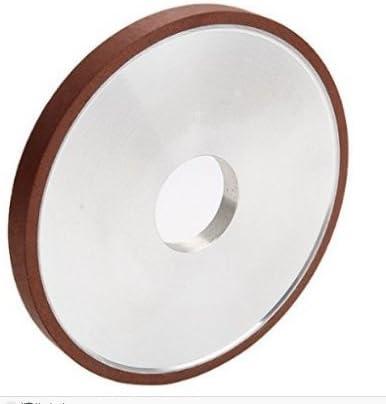 MXBAOHENG 150# 150D32H10T4X Parallel Resin Diamond Carbide Tungsten Steel Grinding Wheels Resin Bonded Alloy Grinding Wheels