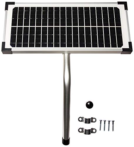 10 Watt Solar Panel Kit (FM123) for Mighty Mule Automatic Gate Openers ()
