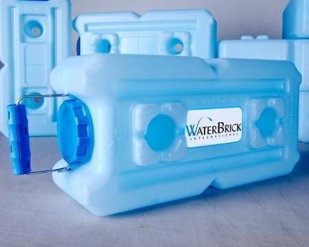 Waterbrick Water Storage Containers 2 Pack Blue Sport Freizeit