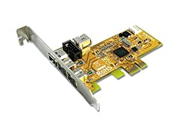PCI Express 2 ext.1394B and 1+1 1394A Ports Card (FWB3414G)