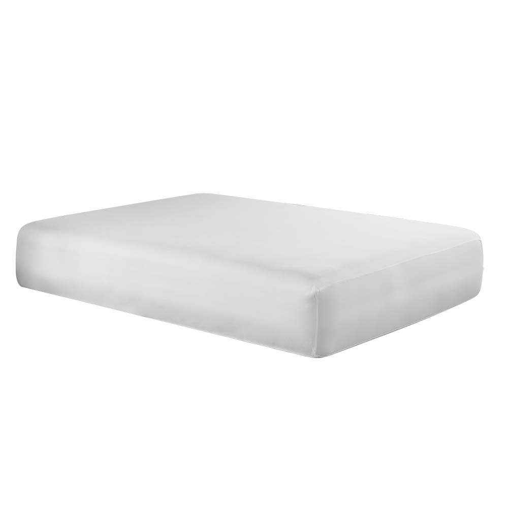 PureCare FRíO Cooling 5-Sided Mattress Protector, California King, White