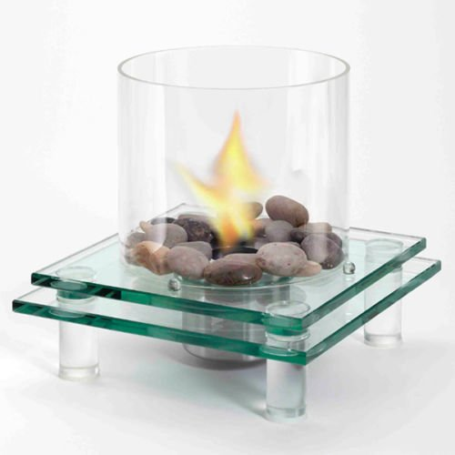 EcoFlame GLASS TABLETOP FIREPLACE by EcoFlame