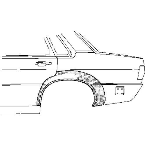 Van Wezel 308147 panel lateral