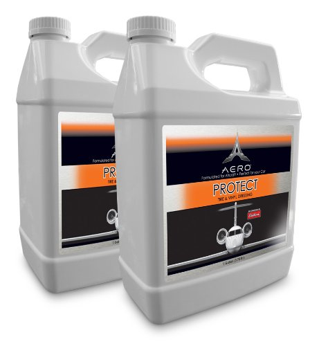 Aero 5855-2 Protect Tire and Vinyl Polish - 1 Gallon, (Pack of 2) by Aero