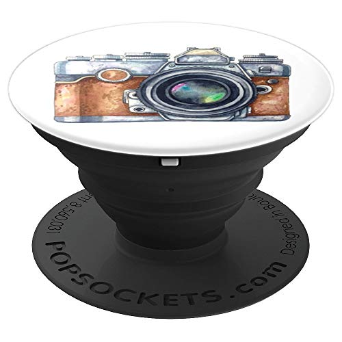 Photographer Vintage Camera Photography - PopSockets Grip and Stand for Phones and Tablets from Classic Camera