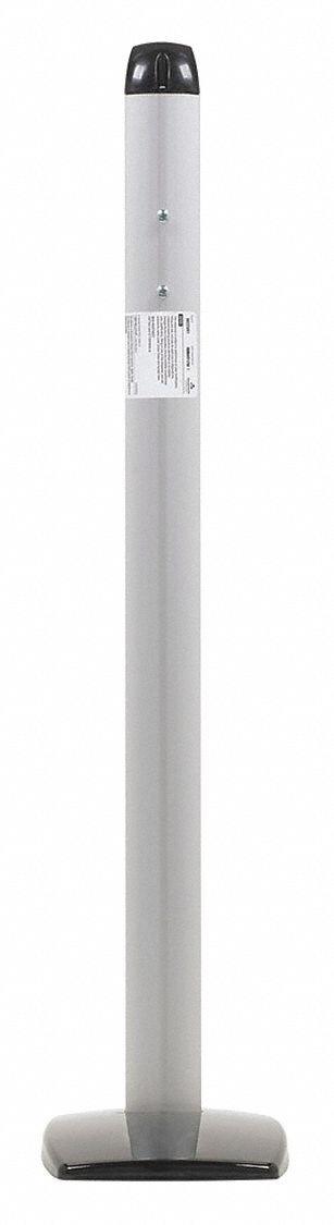 Dixie Ultra 50223/01 Tower Interfold Pole Mount for 54223, 8.0'' x 6.3'' x 29.1'', Aluminum (1 Dispenser)