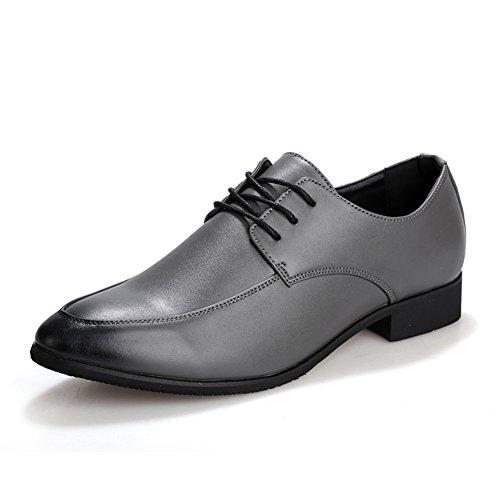 Zapatos de verano de manera simple/Bajo señaló zapatos/Zapatos de marea de Inglaterra/Diario casual zapatos de los hombres gris