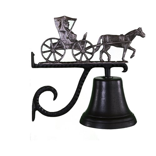 Montague Metal Products Cast Bell with Swedish Iron Country Doctor