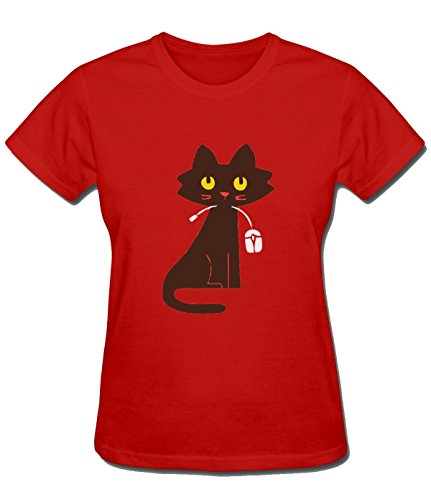 Cat and Mouse Tee For Womens XS - Mall Place Tower