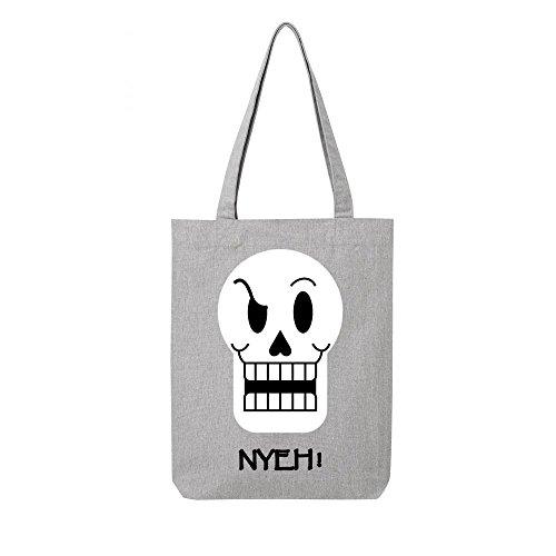 papyrus Tote toile bag recycle gris en XXYqrv