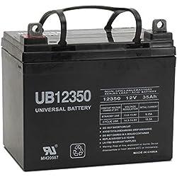 Universal Power Group 12V 35Ah Battery John Deere Lawn Garden Tractor Riding Mower SLA