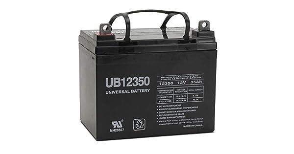 Amazon.com: Batería universal de 12 V 35 Ah para John Deere ...