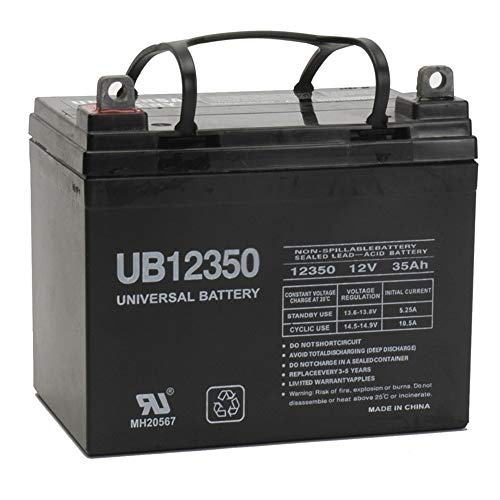 - Universal Power Group 12V 35Ah Battery for John Deere Lawn Garden Tractor Riding Mower SLA