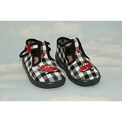 abdream , Chaussures souple pour bébé (garçon) Winner 4UK - 21EU