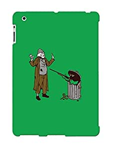 Eatcooment New Arrival Ipad 2/3/4 Case Oscar The Grouch Case Cover/ Perfect Design
