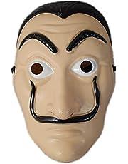 La casa de papel card house Dali mask Cosplay surrounding props