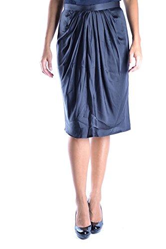 Ezbc026005 Mujer Valentino Negro Falda Seda d5gfpWwfq