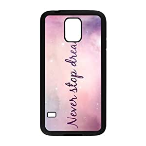 Galaxy Purple Brand New Cover Case for SamSung Galaxy S5 I9600,diy case cover dagongsi595695