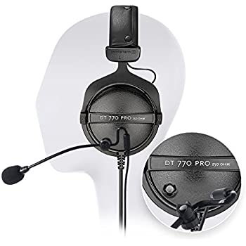 beyerdynamic dt 770 pro 80 ohm closed studio. Black Bedroom Furniture Sets. Home Design Ideas