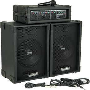 AUDIO CHOICE by SOUNDTECH C100 100W PORTABLE PA SYSTEM MASTER EQ