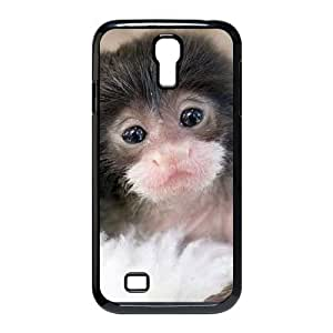 Cute monkey Custom Cover Case with Hard Shell Protection for SamSung Galaxy S4 I9500 Case lxa#989347