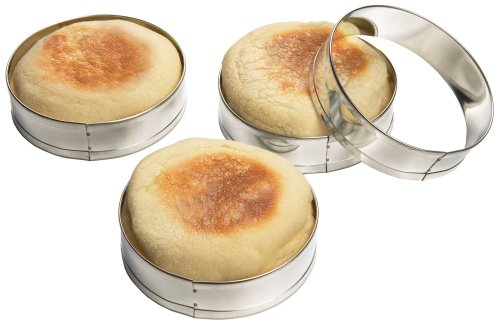 Fox Run Set of Four English Muffin Rings