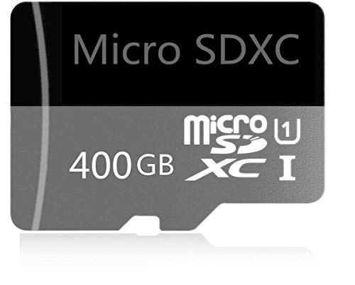 400GB Micro SD Card High Speed Class 10 SDXC with Free SD Adapter, Designed for Android Smartphones, Tablets and Other Compatible Devices (400GB-a)