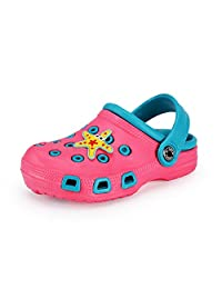 SUADEX Kids Clogs, Children Garden Shoes Lightweight Breathable Summer Slippers Beach Sandals for Boys Girls