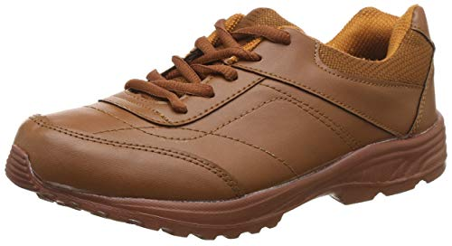 Unistar Walking Shoes; ST-02-TanBrown