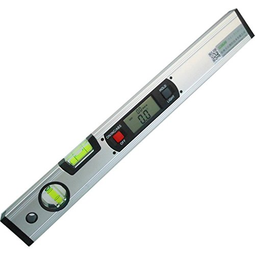 TC Digital Level 360 Degree Range Angle Finder Spirit Level Upright Inclinometer 4 x 90 degree with Magnets TT-400