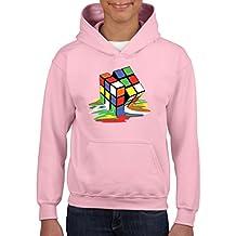 Artix Melting Rubik`s Cube Unisex Hoodie For Girls and Boys Youth Sweatshirt