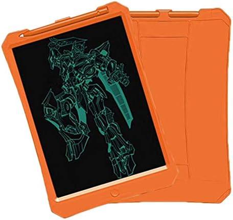 LKJASDHL ハイライト11インチタブレットLCD落書きライティングボード事務用品文房具メモ帳光エネルギー小さな黒板ライティングタブレット (色 : オレンジ)