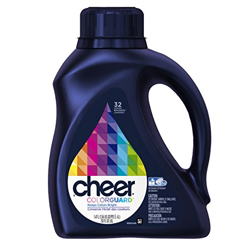 Cheer 2x Ultra Liquid Detergent He Fresh Clean Scent 32 Loads 50 Fl Oz (Pack of 6)