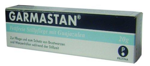 GARMASTAN Gel Nipple Care of Nursing Mother Breast 20 g. by Protina Pharm Germany by Protina Pharm Germany