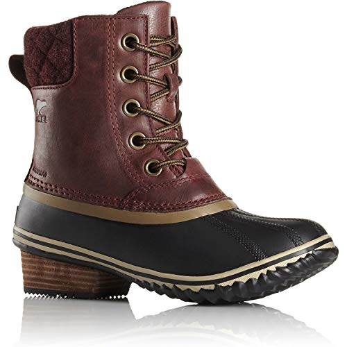 Sorel Slimpack II Lace Boot - Womens Redwood / British Tan 8