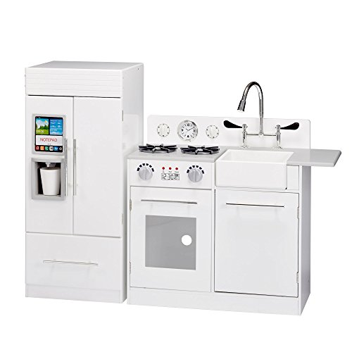 Teamson Kids – TD-12302WR Modern Play Kitchen with