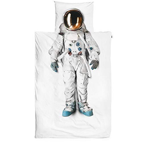 - YZBEDSET 3D Print Bedding Sets Modern Creative Astronaut Pattern,Duvet Cover Set Bedding Set Kids Teenagers and Adults Bed Set 100% Polyester 1 Duvet Cover,173×218Cm