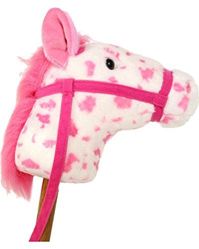 Aurora Girls' Giddy-Up Stick Horse Pink One Size