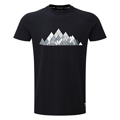 TOG 24 - Pivotal Tcz Baumwolle Herrent-Shirt - Schwarz Prisma - male