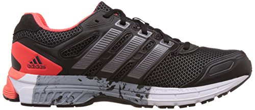 adidas Nova Stability M - Zapatillas de running unisex, color negro / rojo Negro (Negbas / Nocmét / Rojsol)