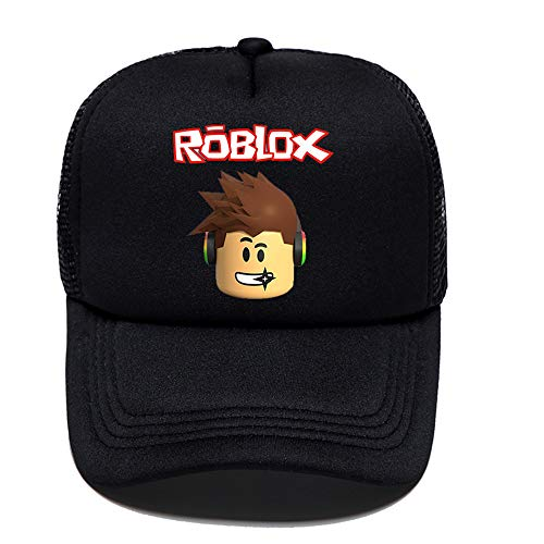 - Kids Roblox Baseball Cap Galaxy Student Travel Hat for Boys Girls Teenagers Game Gift (Black 1)