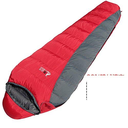 Adult outdoor sleeping bag to keep warm down/Single autumn ...