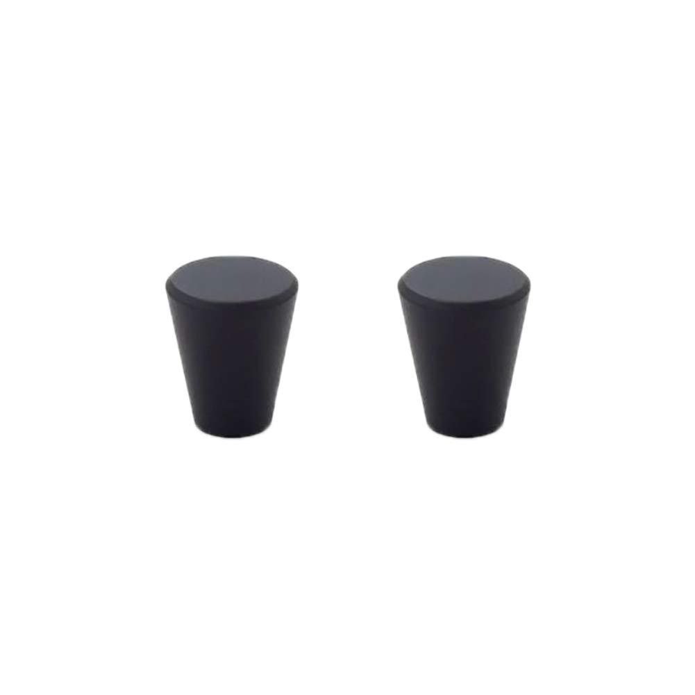 1 Paar Nordisch Stil Zylinder H/ängegriffe Kupfer Schwarz Farbe f/ür K/üchenschrank Schublade Schreibtisch oder Frisiertisch Handgriffe Size 15x15x17mm Lumanuby